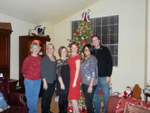 2011 Holiday Social-Board members Donna, Robyn, Deane, Kimberly, Pam, Greg