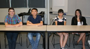 GSC Exchange students (China) at Channel 11 interviews 2012